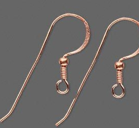 copper earwires